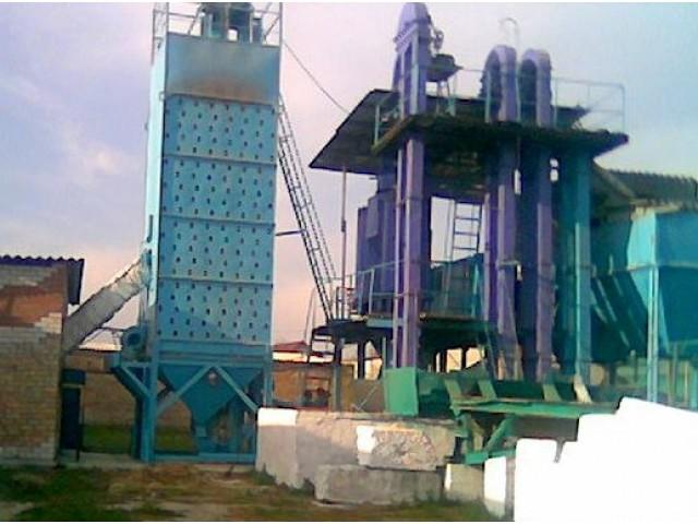 Зерносушилка шахтная ЗСШ-6