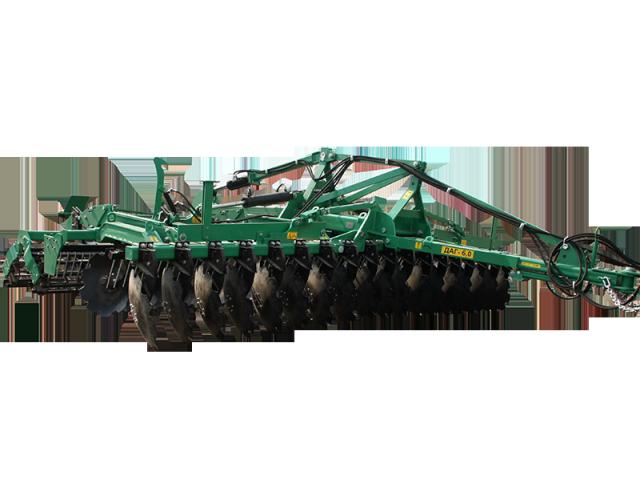 Агрегат ґрунтообробний дисковий ДАГ-6