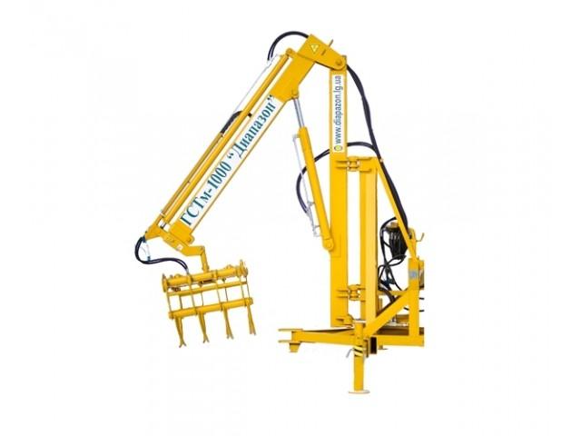 Гідравлічний навантажувач (тракторний маніпулятор, модернізований) ГСТм -1000 «Діапазон»