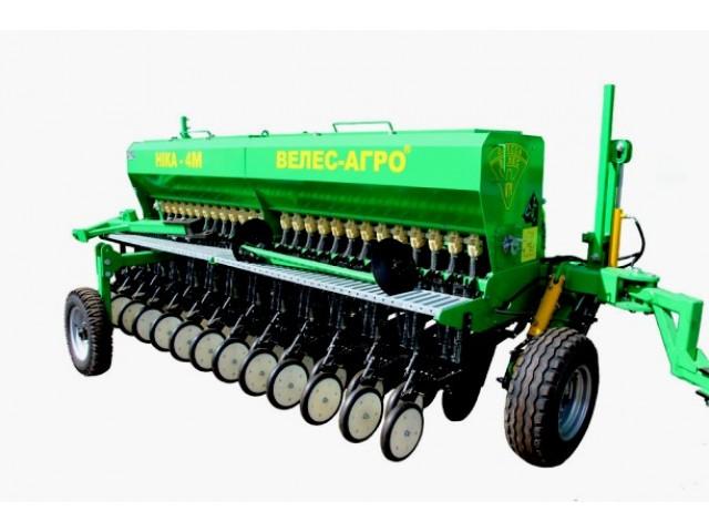 Сеялка зерновая механическая «Ника-4У» серии СЗМ-4 прицепная