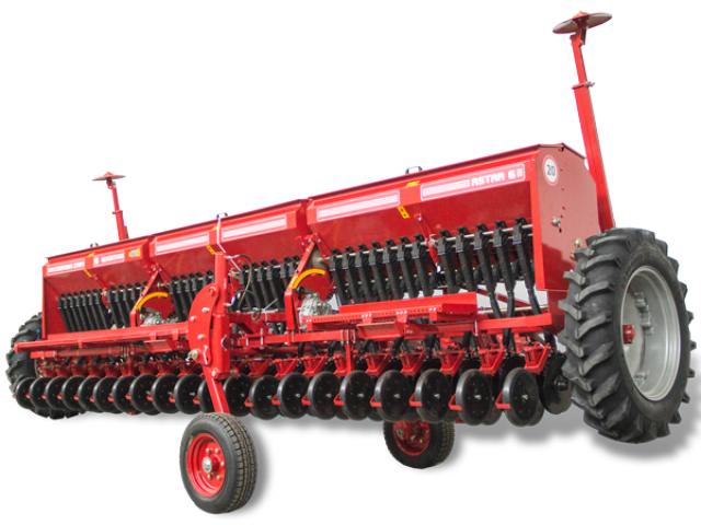 Сеялка зернотукотравяная ASTRA 6 Premium (СЗ-6-06) с сигнализацией