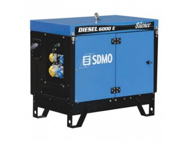 Генератор SDMO Diesel 6000 E Silence