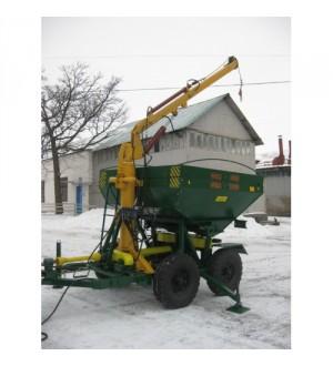 Машина для внесения удобрений МВД-4,3 для гранулированных удобрений