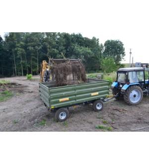 Тракторный самосвальный прицеп 2ТСП-8 к тракторам МТЗ-80