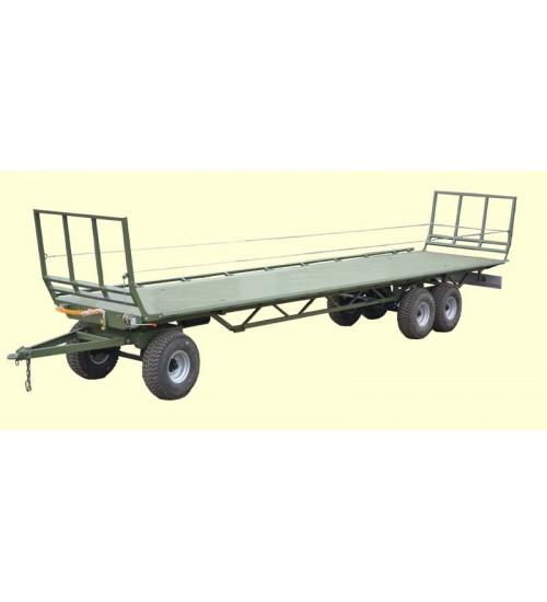 Прицеп платформа для перевозки тюков ПП-12/3 (подвеска Италия)