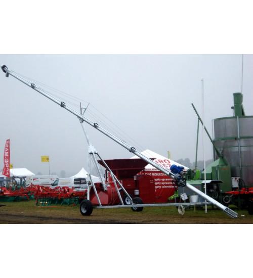 Стационарный шнек СШ-250/10 , длина 10 м,  Ø 250 мм