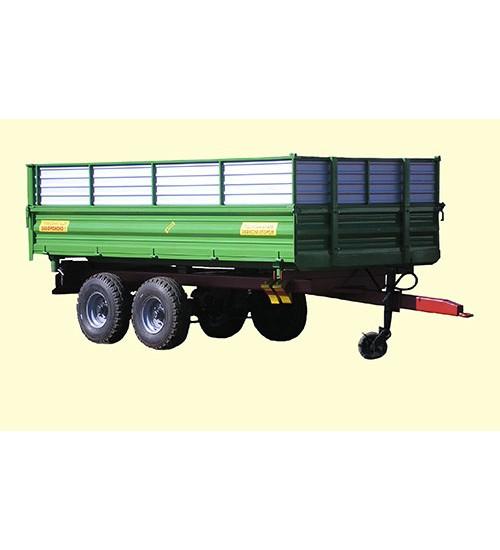 Тракторный самосвальный прицеп ТСП-10т с трехсторонней разгрузкой к тракторам МТЗ-82
