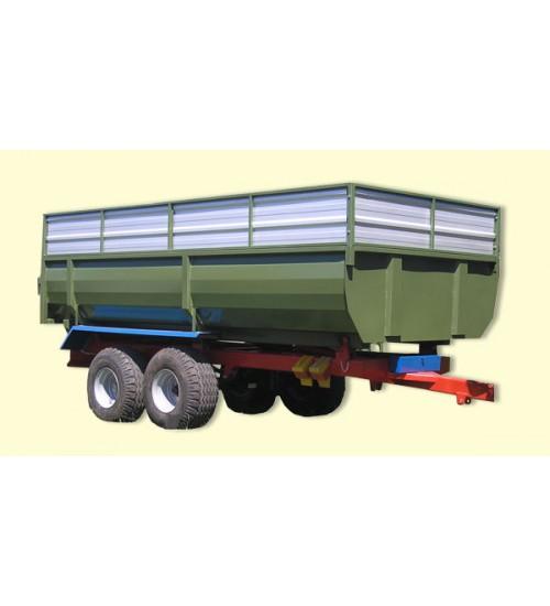 Тракторный самосвальный прицеп ТСП-10 с односторонней разгрузкой к тракторам МТЗ-82