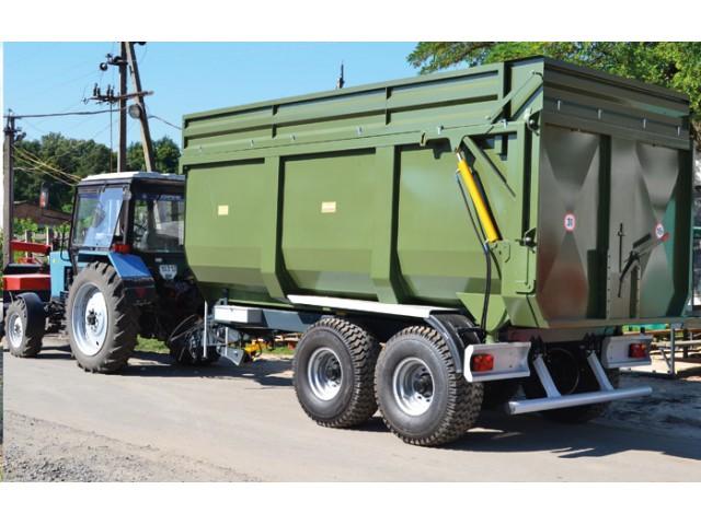 Тракторний напівпричеп ТСП-16 до тракторів Т-150, МТЗ 1210, ХТЗ