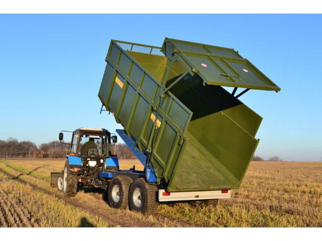 визнані бренди онлайн-магазин стабільна якість Тракторний напівпричіп ТСП-16 до тракторів Т-150, МТЗ 1210, ХТЗ