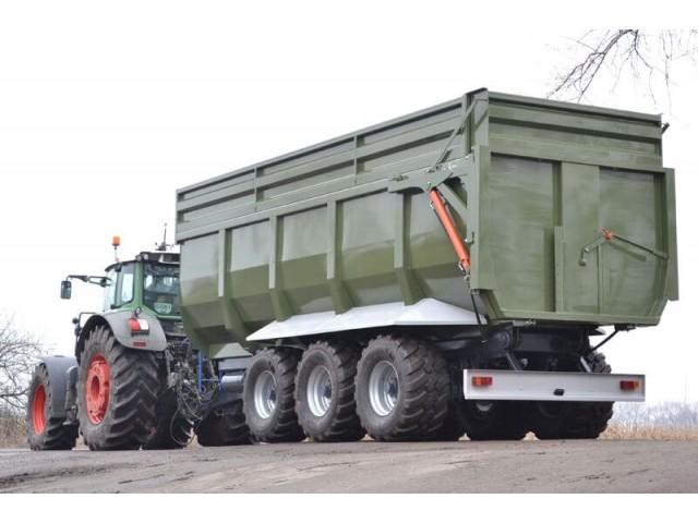 Тракторный самосвальный прицеп ТСП-39 ВАГОВОЗ