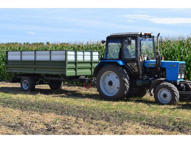 забрати Знижка 50% Знижка 50% Тракторний самоскидний причіп ТСП-6 до тракторів МТЗ-82, Т-40