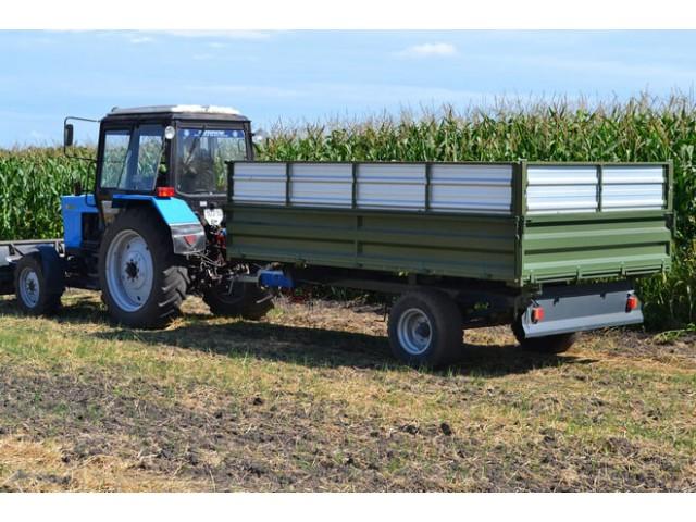 Тракторний самоскидний причіп ТСП-6 до тракторів МТЗ-82, Т-40