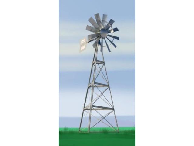 Ветряк с двойной диафрагмой 7,3 м.