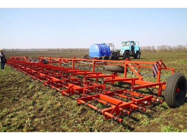 Комплекс для внесення в ґрунт рідких мінеральних добрив і засобів захисту рослин «РЕАЛ» ОЗП-15