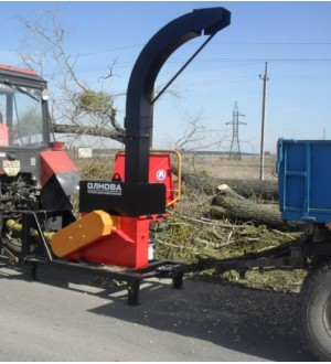 Дереводробильная машина DP 660 T (угловая)