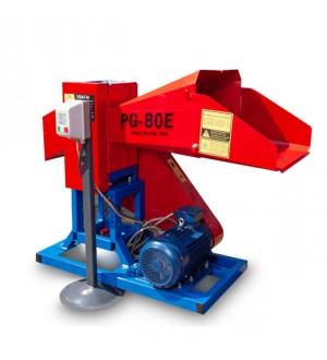 Измельчитель веток PG-80E привод от электродвигателя