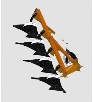 Плуг 4-х корпусный модульный универсальный