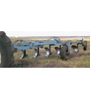 Плуг півнавісний 7 корпусний із змінною шириною захвату