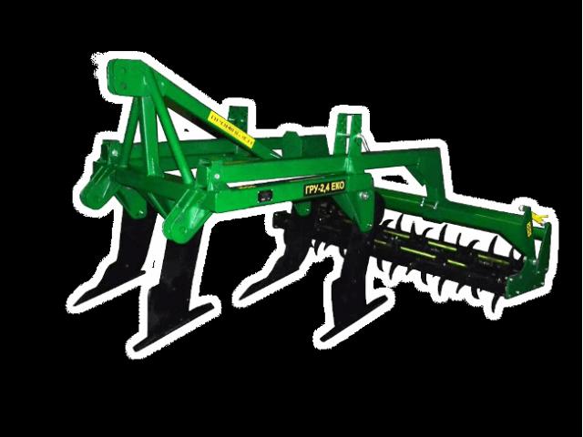 Глубокорыхлитель универсальный ГРУ-2,4 ЭКО с опорными катками