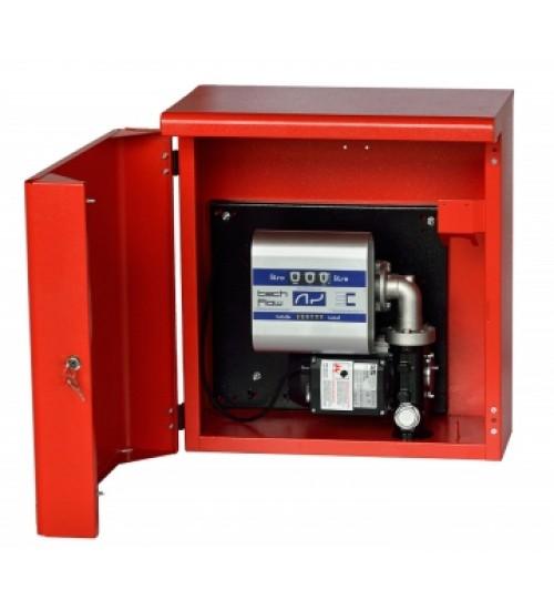 Топливораздаточная мини заправка для топлива в металлическом ящике ARMADILLO