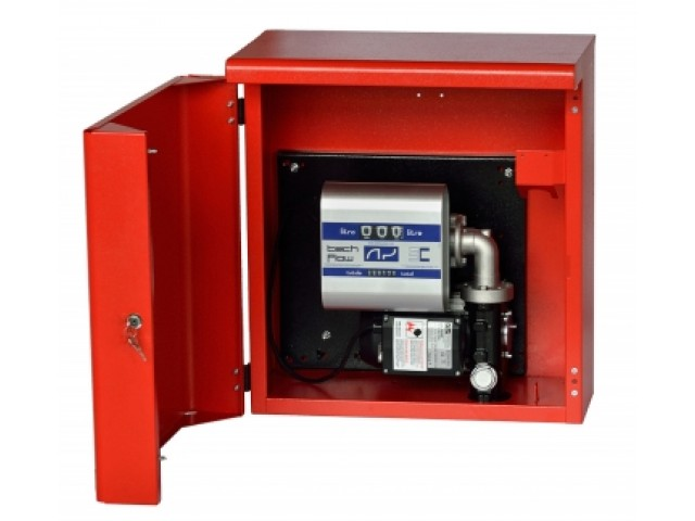 Топливораздаточная мини заправка для топлива в металлическом ящике ARMADILLO 12/24-60, 60 л/мин