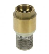 Клапан зворотний з фільтром грубого очищення, 1'' BSP