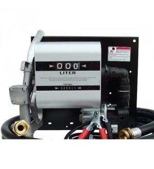 Мобильная перекачивающая станция для дизельного топлива с расходомером WALL TECH 40, 12В