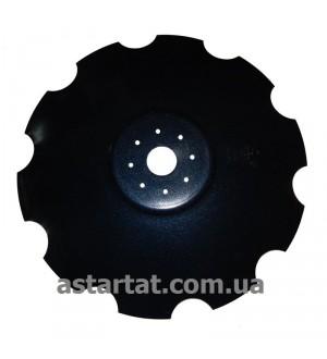 "Диск ""Ромашка"" D=660 мм, h=6 мм, d62, (БелоцерковМАЗ)"