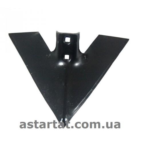 Лапа 430 мм, h=7 мм, между отверстиями 56 мм