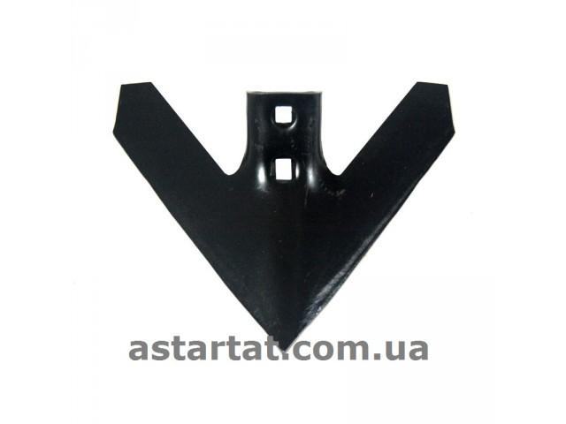 Лапа 305 мм, h=6 мм, между отверстиями 43-47 мм (Flexі coіl)