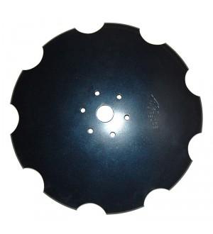 """Диск """"Ромашка"""" D=560 мм, h=6 мм, d46, (Дніпромашінвест, БДМ-Агро)"""