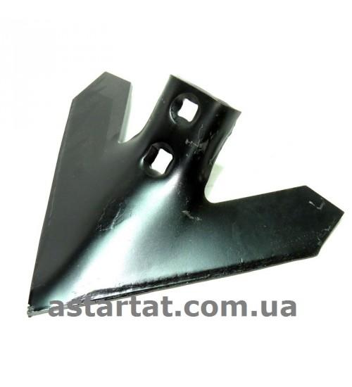 Лапа 254 мм, h=6 мм, между отверстиями 43-47 мм