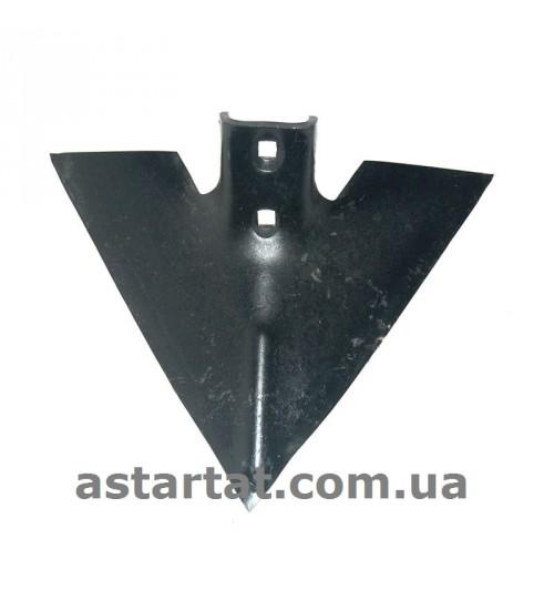 Лапа 375 мм, h=7 мм, между отверстиями 56 мм