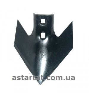 Лапа 180 мм, h=6 мм, между отверстиями 45-47 мм.