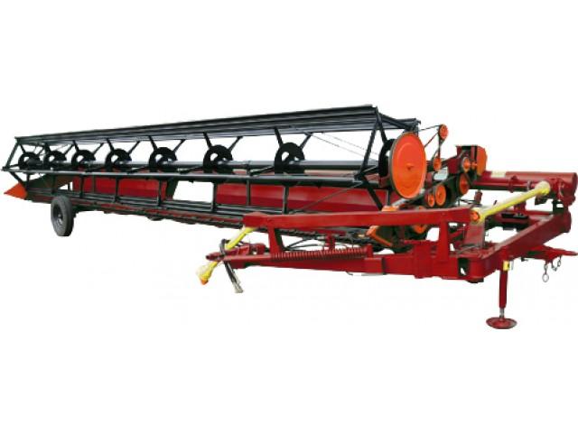 Жатка зерновая валковая прицепная ЖВП-9,1 с МПН типа Шумахер