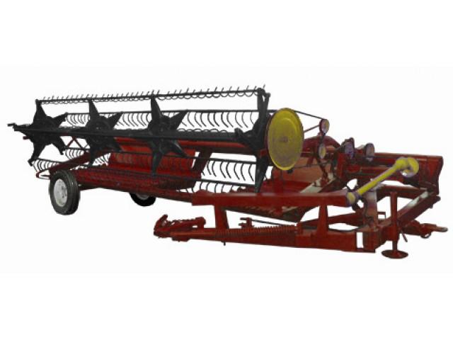 Жниварка зернова валкова причіпна ЖВП-4,9
